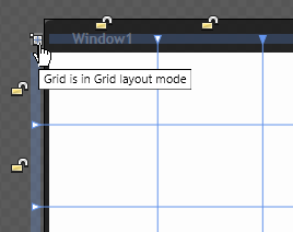 Grid layout mode