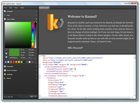 KaXaml 1.0